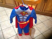 Spider-Man Halloween outfit age 3-4 good condition
