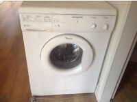 Whirlpool washing machine vgc