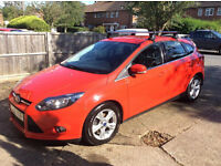 IMMACULATE FORD FOCUS. ONE PROFESSIONAL LADY OWNNER FROM NEW QUICK SALE NEEDED