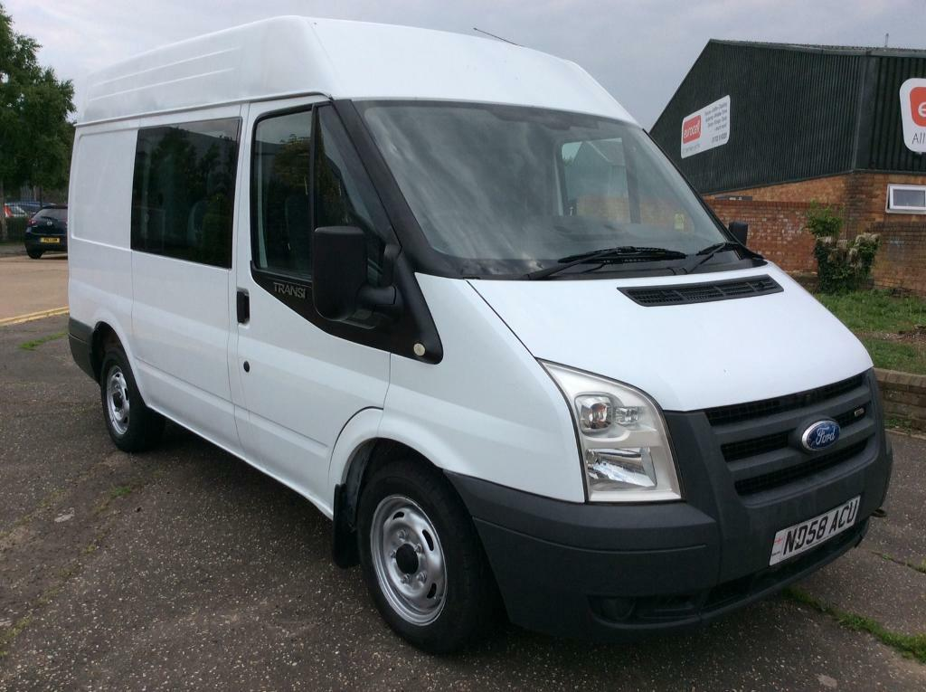 2008 ford transit 2 2 diesel manual 6 seater in southend on sea essex gumtree. Black Bedroom Furniture Sets. Home Design Ideas