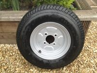 sunncamp trailer tent spare wheel brand new