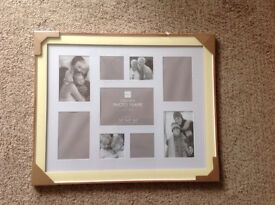 BRAND NEW - COLLAGE PHOTO FRAME Medium size 57.5 x 47.5 cm  to display 9 photos