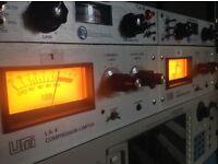UREI LA-4 Vintage Compressors / Limiters PAIR Outboard Effects RARE plus plus +++