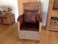 Unusual Wicker Type Chair