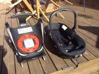 Jane matrix car seat and isofix base (new / used)