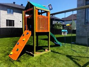 Module de jeu exceptionnel très solide (cabane,portique) City of Montréal Greater Montréal image 7