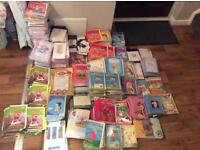 1500 new sealed cards of all sorts.