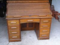 Writing Bureau / Roll top Desk