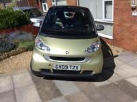 Smart Car For Two, semi auto, 999cc. £20 per year Road tax.