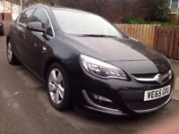 vauxhall ASTRA J 1.6 SRI repaired cat d cheap £6000 low miles 8145