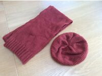 Boden hat and scarf set