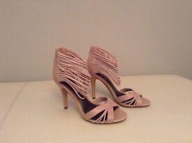 NEXT Peep toe shoes size 4