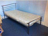 Single 3ft metal bed