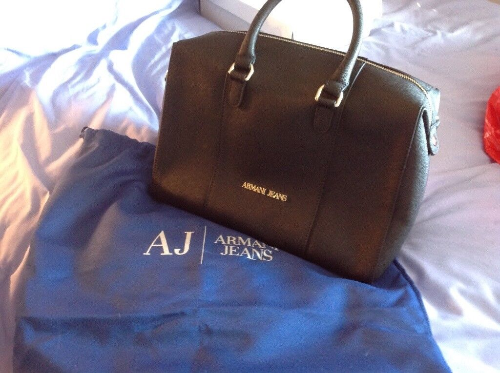Lovely new genuine Armani Jeans bag THIS IS NOT A FAKE bought at the  airport from Armani | in Ashford, Kent | Gumtree
