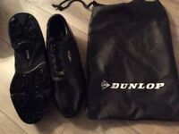 Lovely Black Dunlop Golf shoes size 10