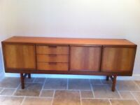 Excellent Condition 1970 Teak Sideboard made by White & Newton of Portsmouth
