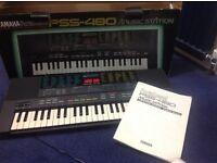 Yamaha PortaSound PSS-480 Electronic Keyboard
