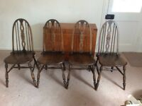 Dining Chairs Set of Four