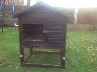 Free Rabbit Hutch -outdoor