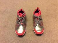 Clarks girls adven jump junior trainers size UK 4F