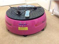 Pink Vibration plate