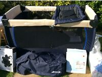 Hauck baby centre travel cot