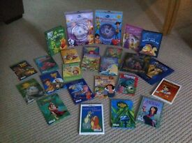 Disney reading books - over 30 titles. Including sing a long and read along with audio CDs.