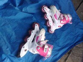 Inline skates , like new , hardly worn