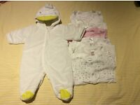 Next Baby clothes bundle. First Size (New born).