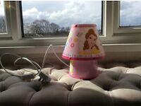 PINK DISNEY PRINCESS LAMP