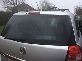2010 Vauxhall Zafira, very good condition, one owner from new. 7 seater, rear parking sensors.