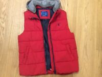 Blue Zoo Boys Red Gilet