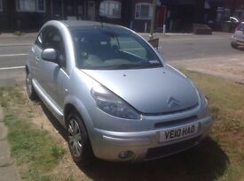 **PRICE REDUCED** Citroen C3 Pluriel Cote D'Azur 1.4 44770 Miles 10 Plate