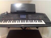 Yamaha PSR 8000 keyboard.