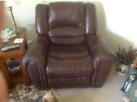 Leather Recliner free to good home