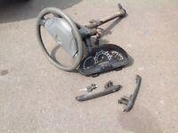 2000 -2006 Mercedes sprinter lock set key reader
