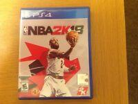 Ps4 NBA2k18 game
