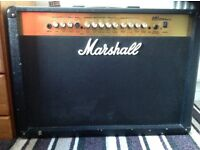 Marshall Amplifier MG250DFX with foot switch