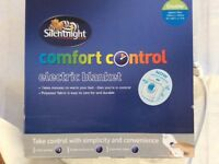 SILENT NIGHT DOUBLE ELECTRIC BLANKET WASHABLE