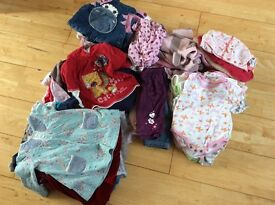 Huge bundle 3-6 months girls clothes 80 items