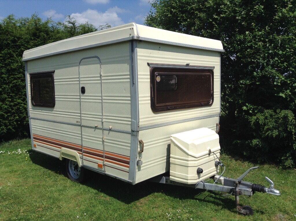Casita Folding Caravan 1980s Vintage 3 Berth Similar To