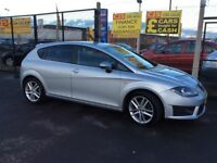 Seat Leon FR 2.0 tdi diesel 2012 facelift model one owner 70000 fsh long mot mint car fully serviced