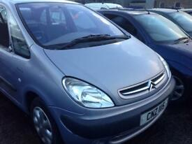 2002 CITROEN XSARA PICASSO SX 8V 1.6 PETROL BREAKING FOR PARTS ONLY POSTAGE AVAILABLE NATIONWIDE
