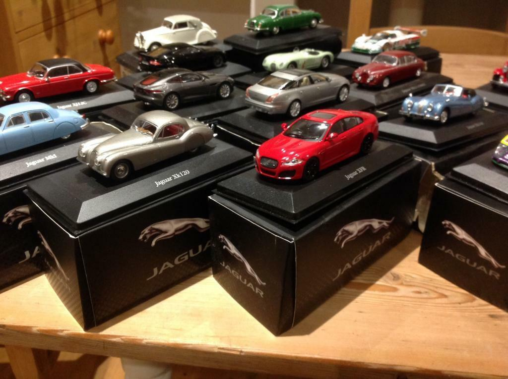 Jaguar Model Cars