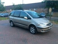 2005 Ford galaxy Ghia 1.9cc TDI diesel 7 seater 1 owner from new full service history 12 months mot