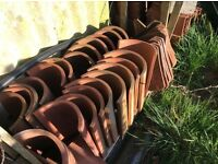 Roof tiles to include ridge and bonnet