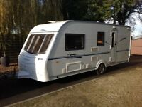 Coachman 520 vip 2007 luxury caravan 4berth with end bathroom