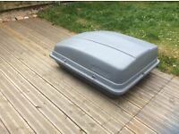 Quality roof box, 400 litre variety from halfords. In great condition