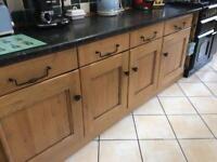 Croft Oak (solid oak) Kitchen