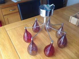 Next chandalier in gorgeous hues of plum